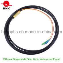Outdoor Singlemode Fiber Optic Waterproof Pigtail
