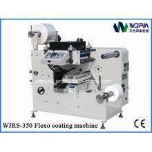 Machine d'enduit étiquette Flexo (WJRS-3500)