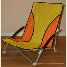 Chaise pliante portative de plage basse (SP-137)