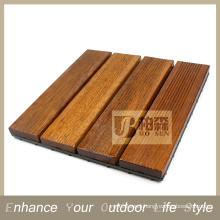 Interlocking tile Flooring tile Merbau floor terrace wood