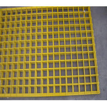 High Security Galvanized Wire Mesh Fence Panel