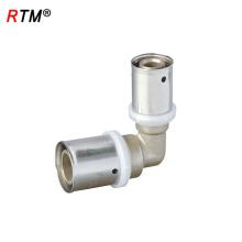 J17 4 6 12 Haute Qualité Multicouche Réduit Coude Pipe Presse Fitting