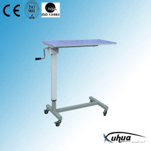 Hospital Furniture, Height Adjustable Hospital Over Bed Table (L-1)