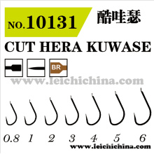 Оптовое верхнее качество Высокоуглеродистая сталь Cut Hera Kuwase Рыболовный крючок