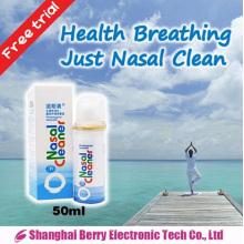 Spray nasal fisiológico sin ningún efecto secundario