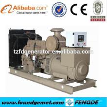 Générateur de moteur diesel à 4 temps refroidi à l'eau de 3 phases, générateur diesel de centrale électrique