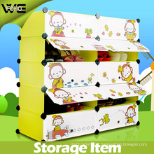 10 Cube Waterproof Dustproof Plastic Storage Shoe Cabinet