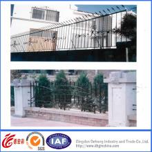 Valla de seguridad de jardín de hierro forjado de alta calidad