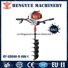 Venda quente de produtos de alta qualidade Máquina de perfuração de solo 68 Cc