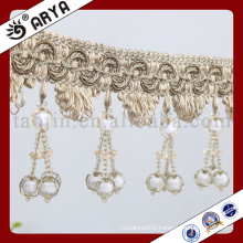 new design three type cherry beads Fringe for Curtain decoration and lamp