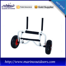Beach kayak cart, Marine outdoor trailer, Folding aluminum canoe trolley