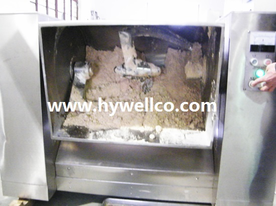 wet powder mixing machine
