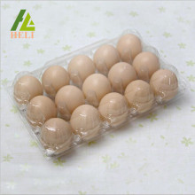 15 Compartments Plastic Chicken Eggs Packaging Tray