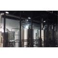 Maquinaria de procesamiento de bebidas de acero inoxidable 304