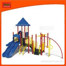 Slide plástico ao ar livre para crianças (2272B)