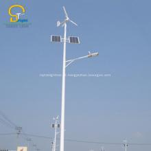luz de rua do controlador híbrido solar do vento