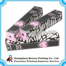 Papierkasten des neuen Hausformkunstpapiers 2013 mit Fenster, Geschenkbox mit Seidenband, Kraftpapier mit silk Fenster für Geschenke