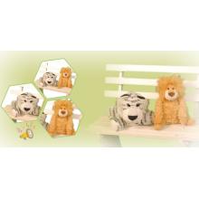 Brinquedos de pelúcia adorável leão