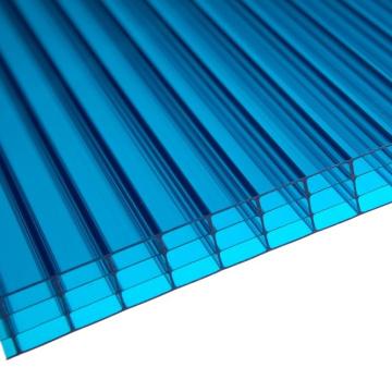 Feuille de toiture de lucarne de feuille de 4-mur de feuille de Multiwall (fabricant, OEM disponible)