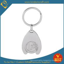 Custom Fashion Metal Trolley Token Keyring (KD-0252)