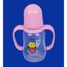 Plastic Baby Feeding Bottle with Handle