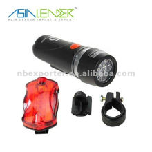 5W bicycle light led front rear