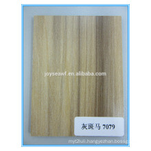 HPL high pressed laminate sheet wood grain design matte/glossy/texture surface