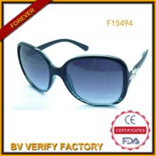 Nouveau lancé femmes Fashion lunettes de soleil Chine Fanufacturer (F15494)