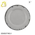 Круглые пластиковые тарелки тарелки меламин пластины зарядное устройство тарелки оптовая