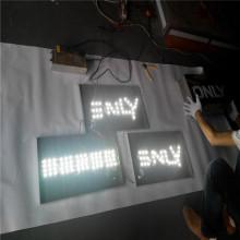 Caja de luz al aire libre personalizada signos proveedores con letras