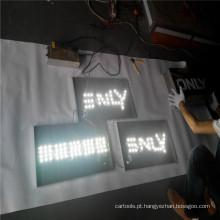 A caixa leve exterior feita sob encomenda assina fornecedores com letras