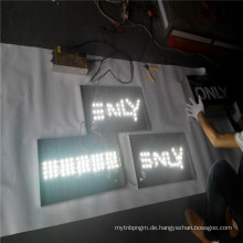 Benutzerdefinierte Outdoor Light Box Zeichen Lieferanten mit Buchstaben