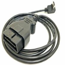 Cable de sistema de diagnóstico de camión OBD2 tipo J1962 moldeado