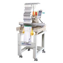 Máquina principal automatizada do bordado do t-shirt / do tampão única com de alta velocidade
