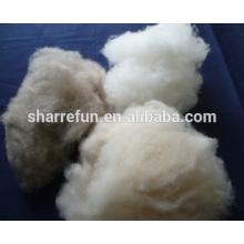 Fabricante cardado y depilado de fibra de cachemira de Mongolia Interior Lt.grey