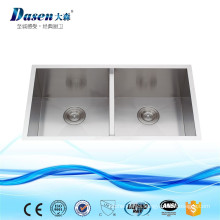 New Premium Sanitary Ware Import Inox Kitchen Sink With Metal Bowl Pad