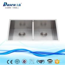 Dissipador de cozinha de aço inoxidável de alta qualidade da porcelana do Undermount do hexágono com forro descartável