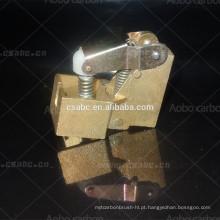 suporte de escova de cobre de carbono para motor industrial