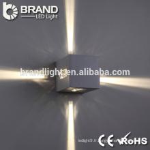 Lumière murale à LED murale à 4 lumières latérales de bonne qualité, lampe murale à LED moderne