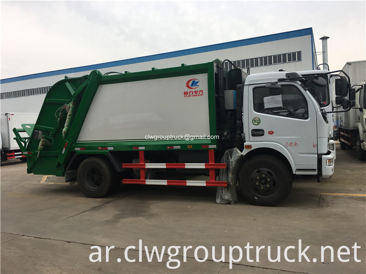 Garbage Collector Truck3