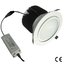 6W / 30W Dimmable reines weißes justierbares COB LED unten Licht