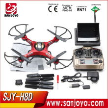 JJRC drone H8D 2.4Ghz Headless Mode One Key Return 5.8G FPV RC Quadcopter With 2MP Camera Updated JJRC H8C 300M Distance VS H12C
