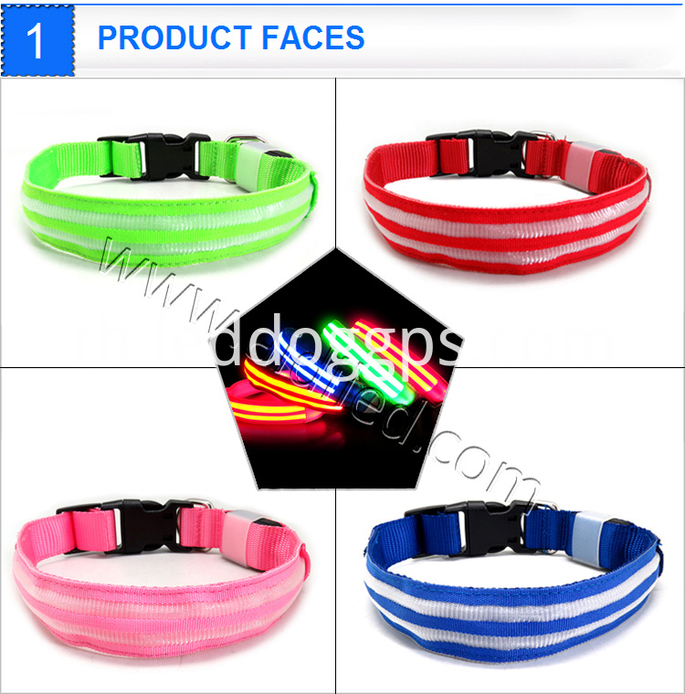Flashing Safety Led Dog Collar