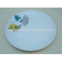 Nouvelles plaques de céramique design de l'usine de porcelaine