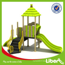 Playground Fabricant Children Outdoor Playground Houses LE-DC007 Système de jeu modulaire Playground