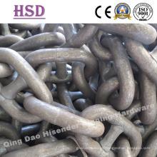 Cadena de anclaje de perno, 6 mm a 60 mm, cadena marina