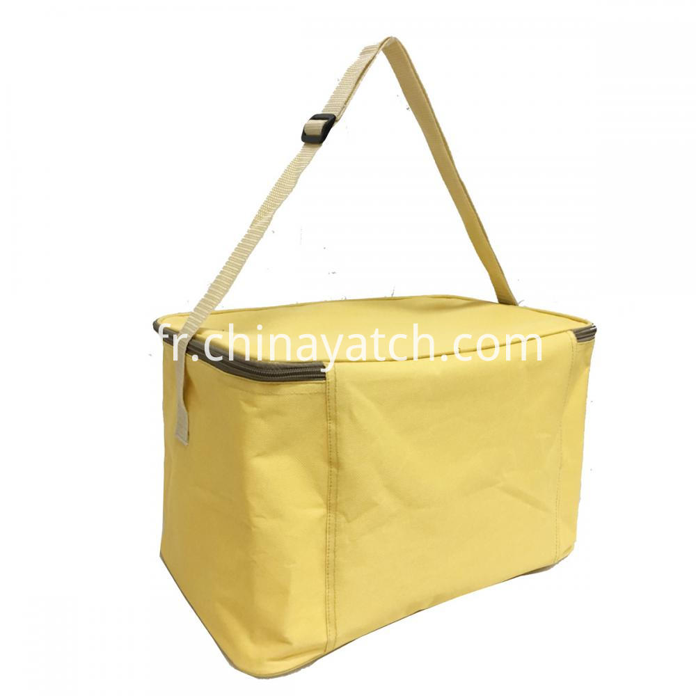 High-quality Yellow Lunch Bag