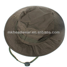 Gorras militares baratas de encargo de la pesca de la selva del ejército