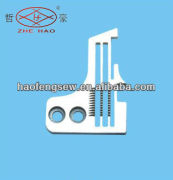 Industrial sewing machine needle plate