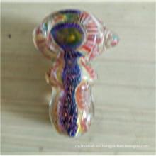 Pipa de cristal colorida de la cuchara del fabricante para fumar al por mayor (ES-HP-152)